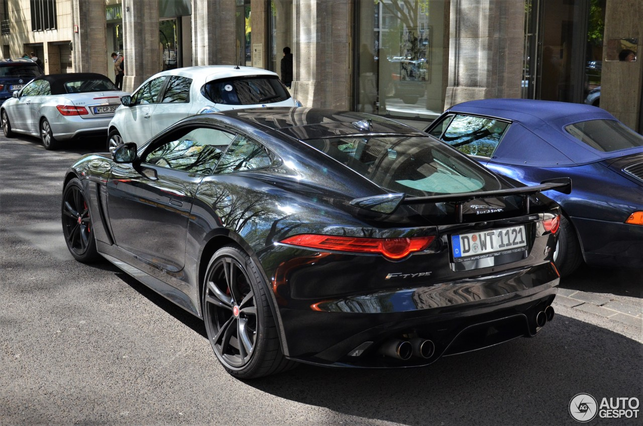 jaguar f type svr coup 8 may 2017 autogespot. Black Bedroom Furniture Sets. Home Design Ideas