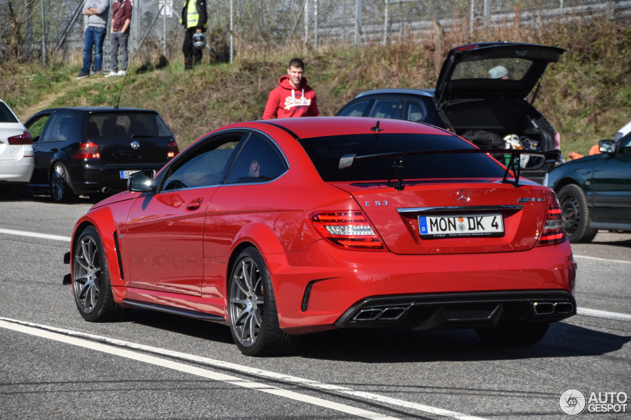 Mercedes Benz C 63 Amg Coup Black Series 10 May 2017