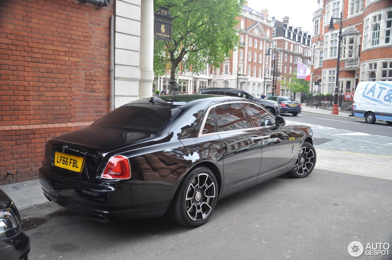 Rolls-Royce Ghost Series II Black Badge - 10 May 2017 ...