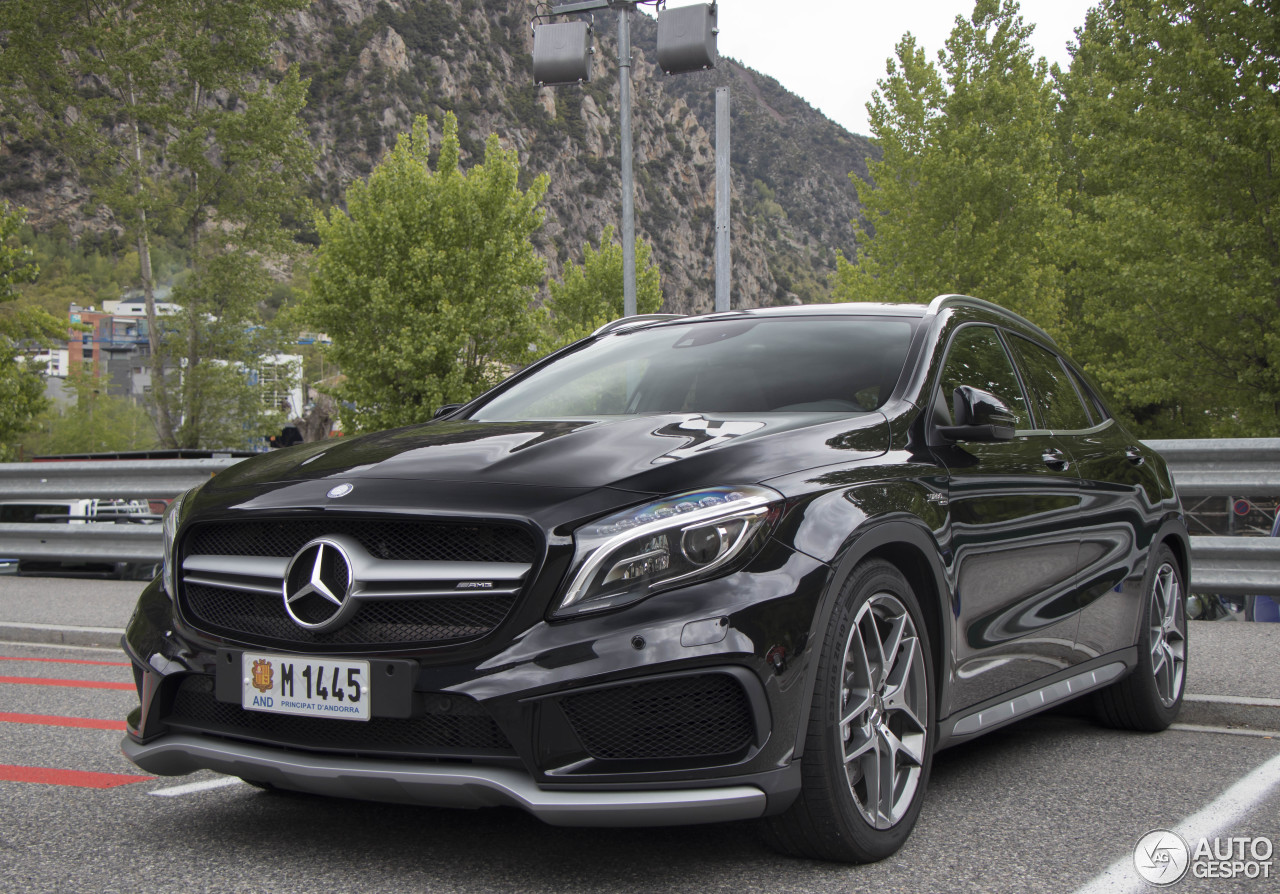 mercedes benz gla 45 amg x156 11 may 2017 autogespot. Black Bedroom Furniture Sets. Home Design Ideas