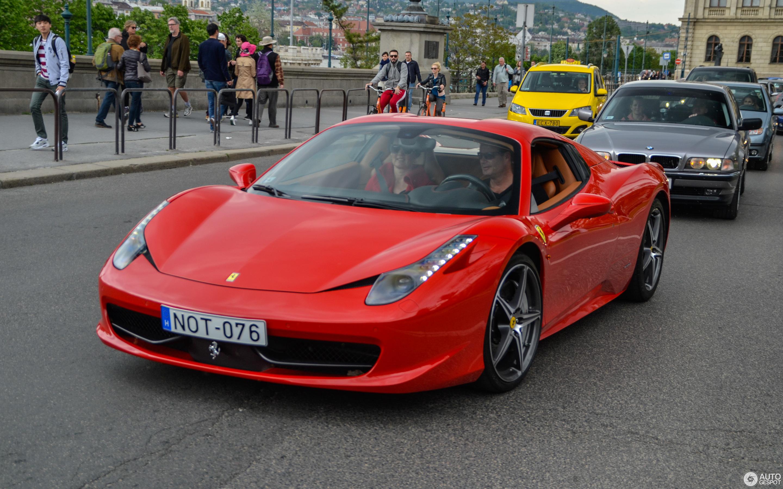 Ferrari 458 Spider 11 Mai 2017 Autogespot