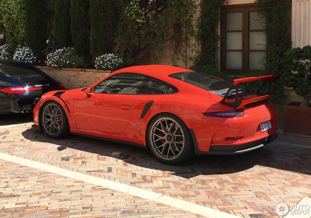 porsche 991 gt3 rs 11 may 2017 autogespot. Black Bedroom Furniture Sets. Home Design Ideas