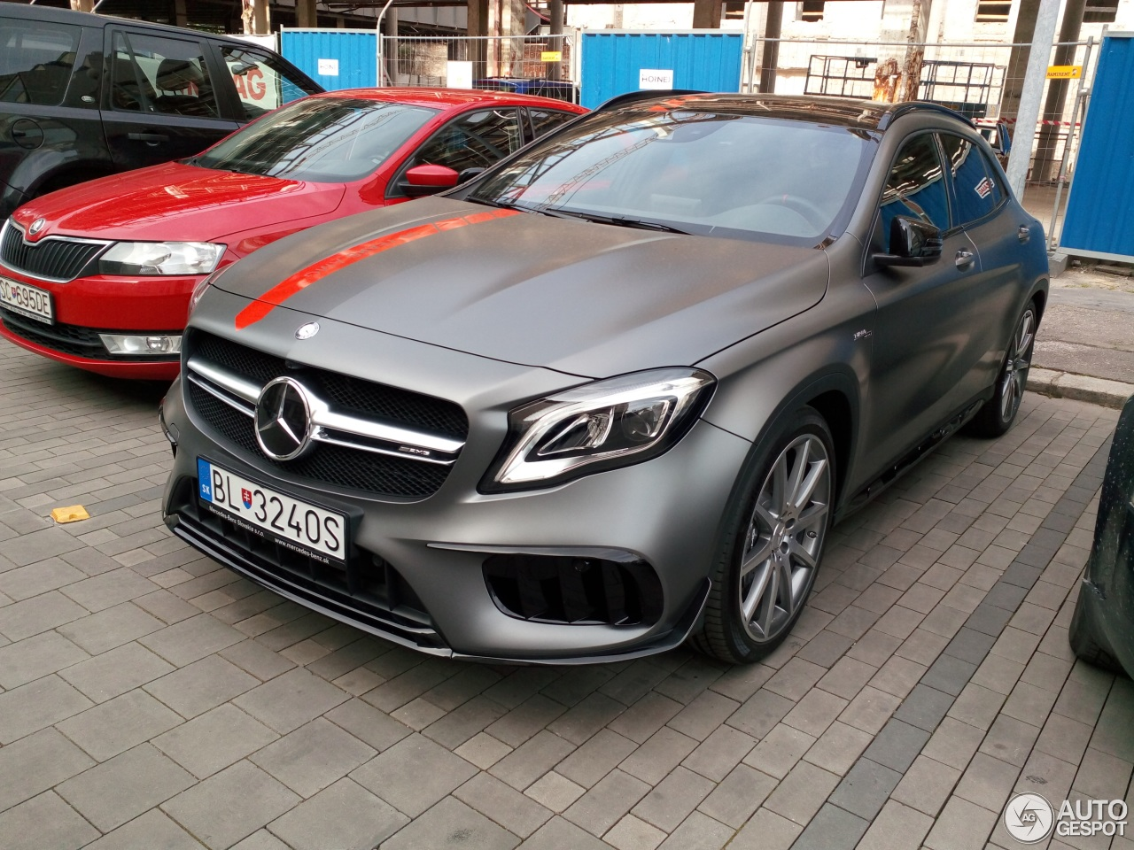 mercedes amg gla 45 x156 2017 12 may 2017 autogespot. Black Bedroom Furniture Sets. Home Design Ideas