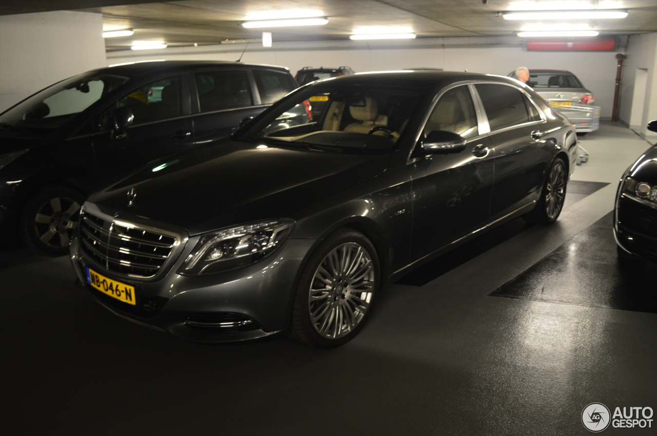 Mercedes maybach s600 12 may 2017 autogespot for 2017 mercedes benz s600