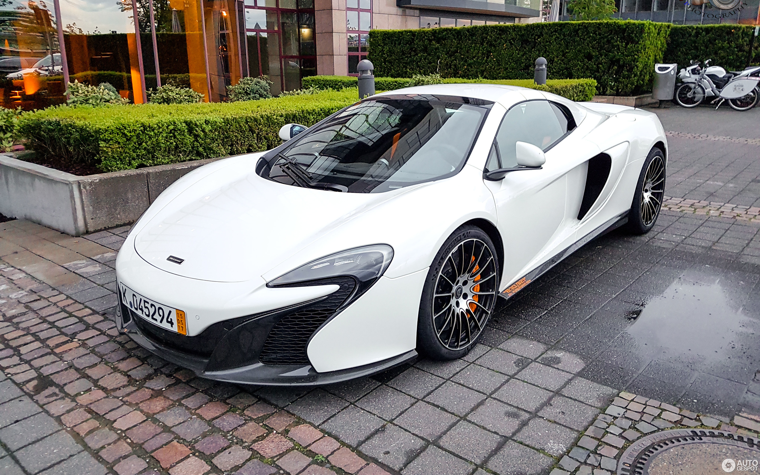 McLaren 650S Spider Nürburgring Record Edition - 12 May 2017