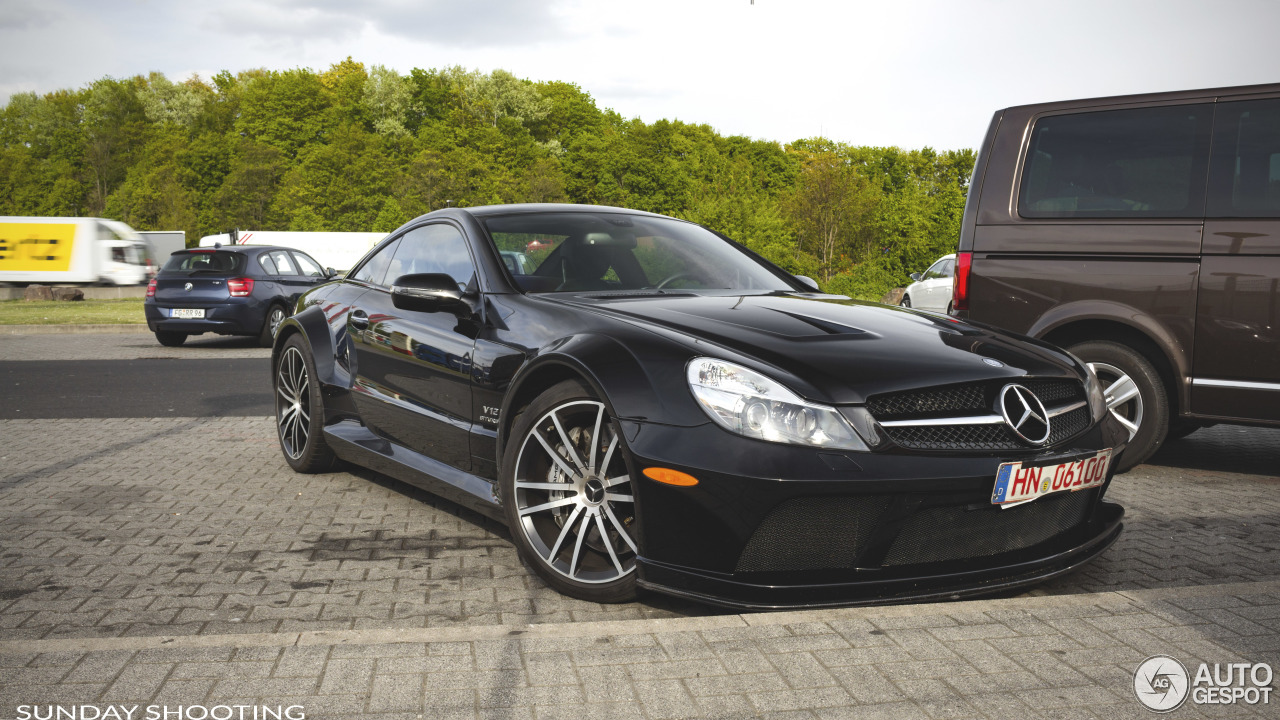 Mercedes benz sl 65 amg black series 13 may 2017 for Mercedes benz 5 series