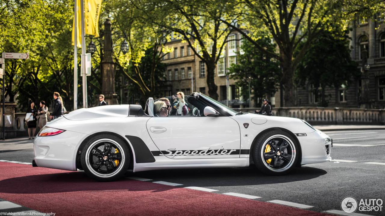 Porsche 997 Speedster 14 May 2017 Autogespot