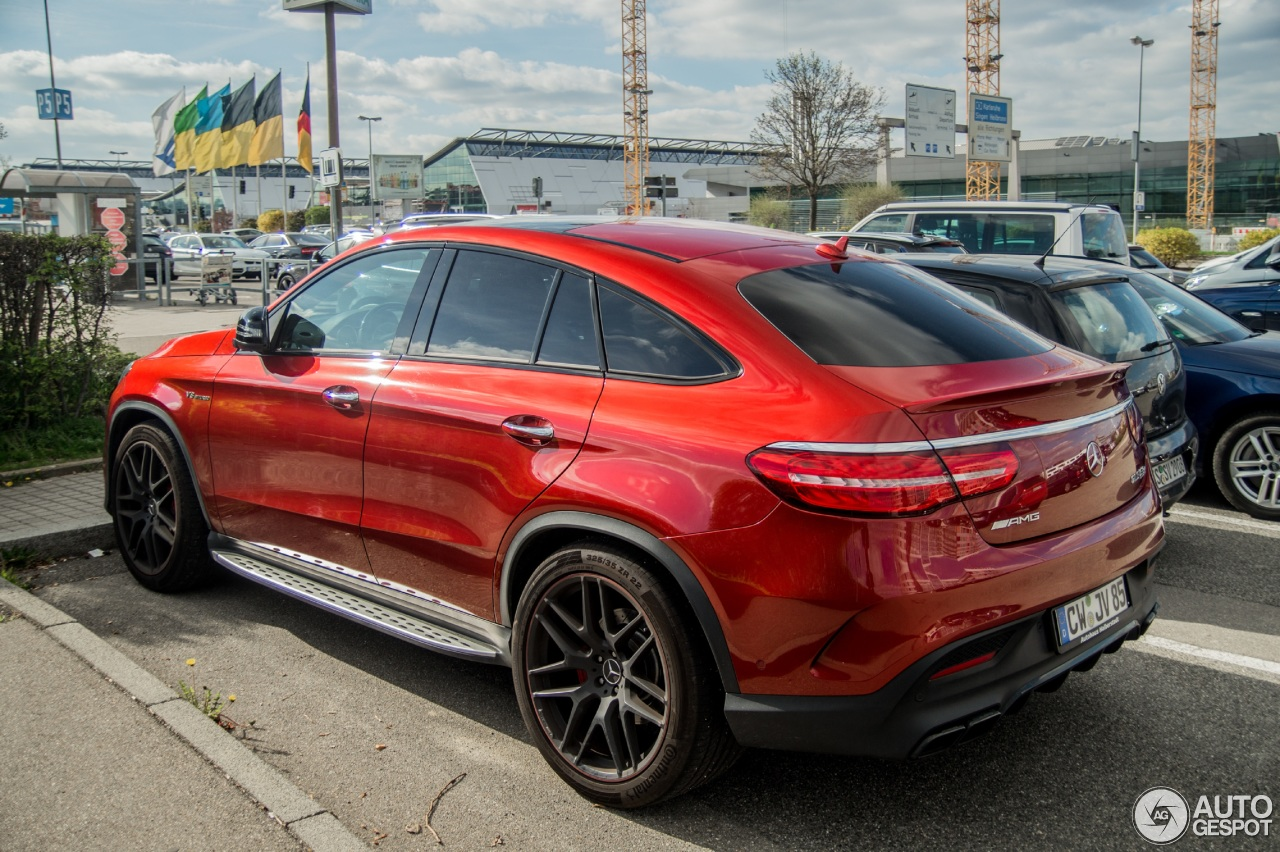 Mercedes amg gle 63 s coup 15 mai 2017 autogespot for 2017 amg gle 63 mercedes benz
