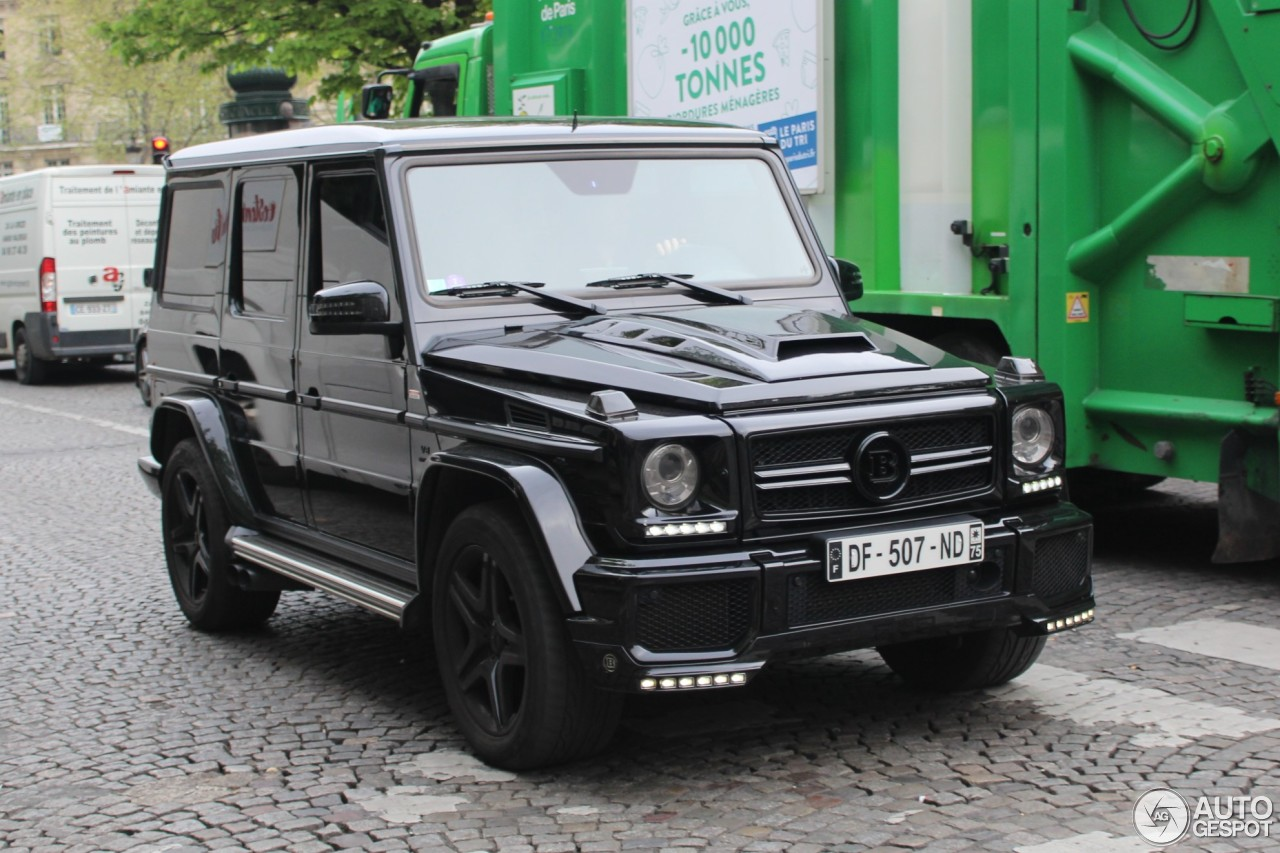 mercedes benz brabus g 63 amg b63 620 15 may 2017 autogespot. Black Bedroom Furniture Sets. Home Design Ideas