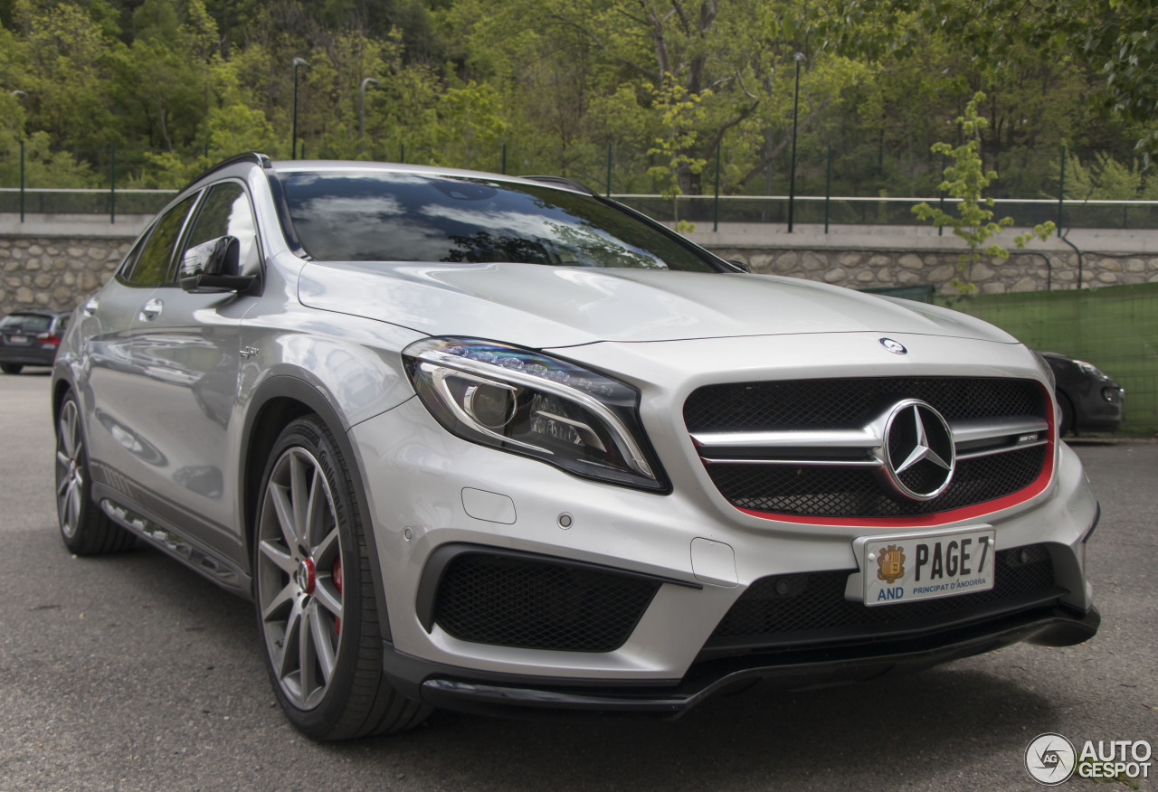 Mercedes benz gla 45 amg x156 15 may 2017 autogespot for Mercedes benz gla 45 amg