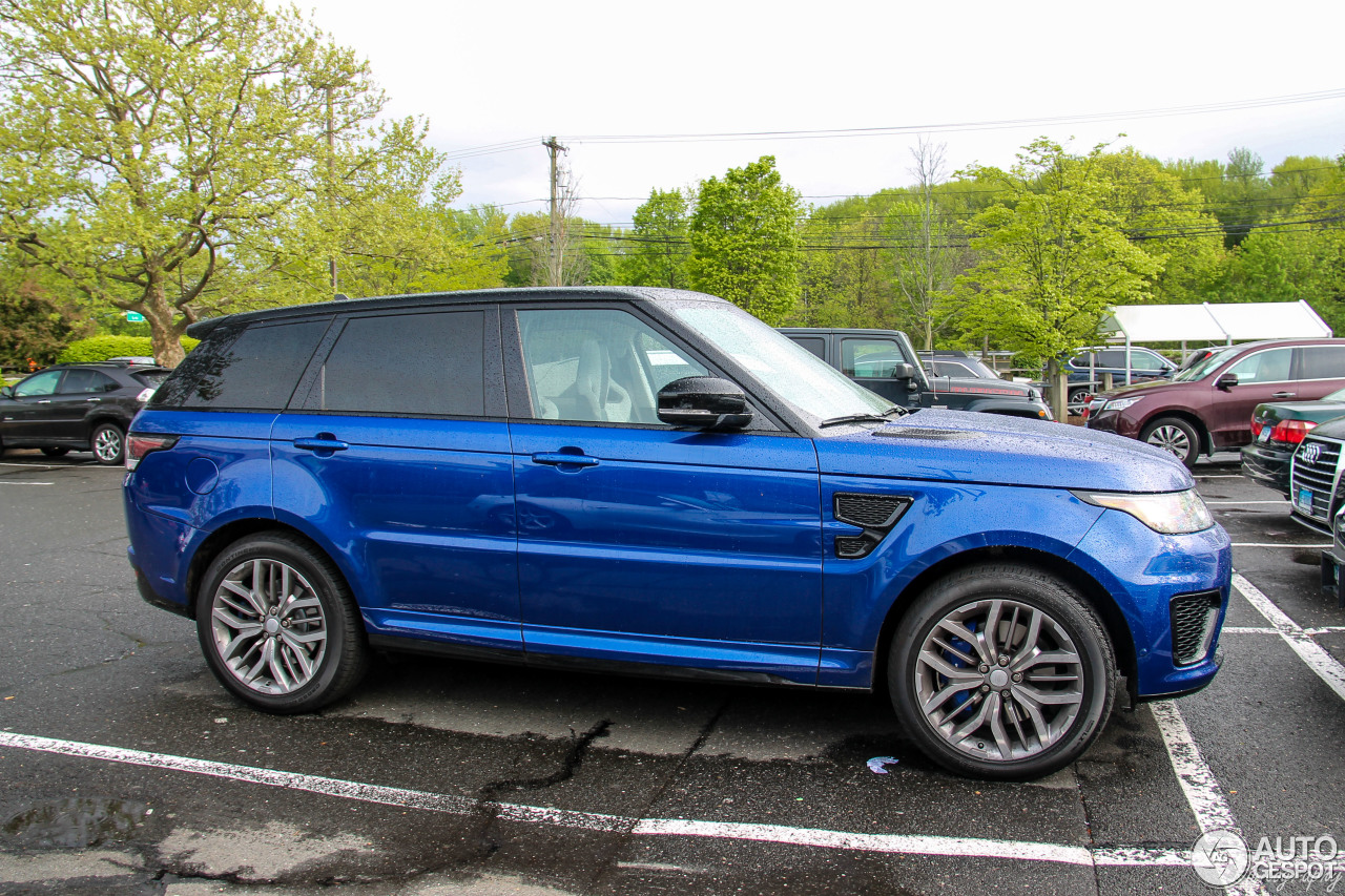 land rover range rover sport svr 16 may 2017 autogespot. Black Bedroom Furniture Sets. Home Design Ideas