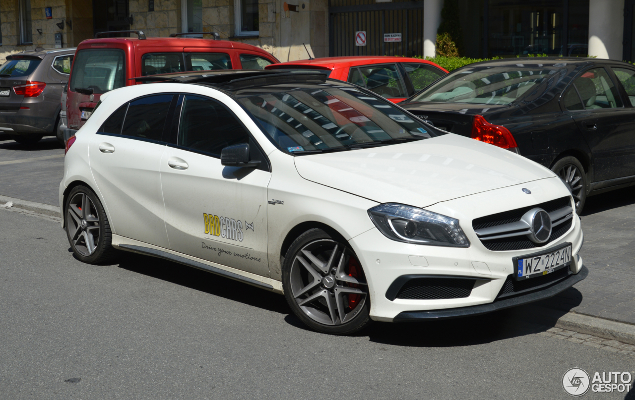 Mercedes benz a 45 amg 17 maj 2017 autogespot for Mercedes benz a 45