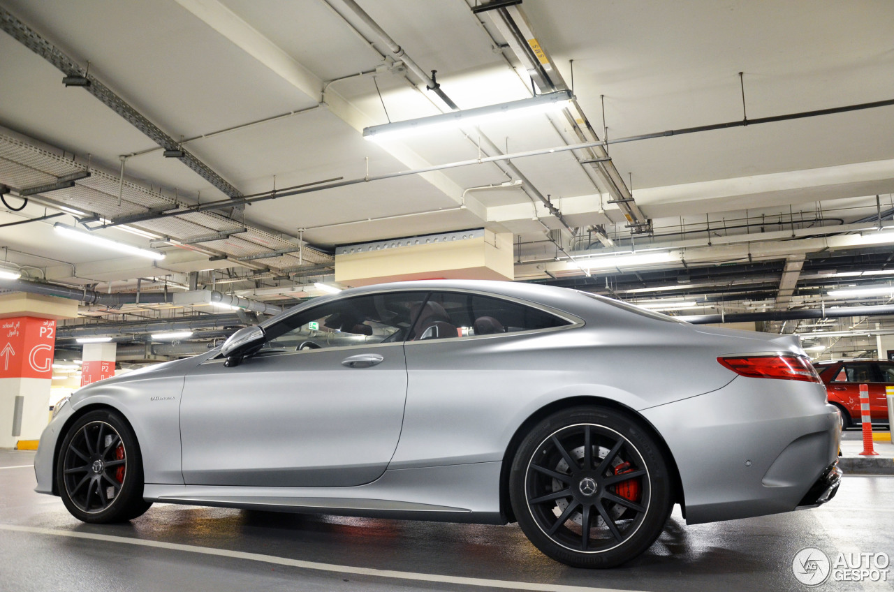Mercedes benz s 63 amg coup c217 17 may 2017 autogespot for All types of mercedes benz cars