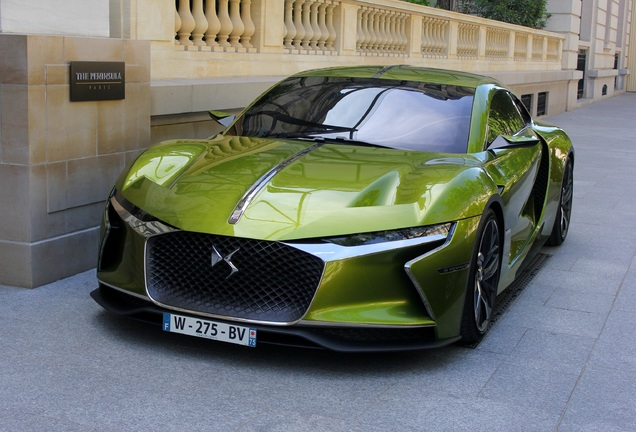 DS Automobiles E-Tense Concept