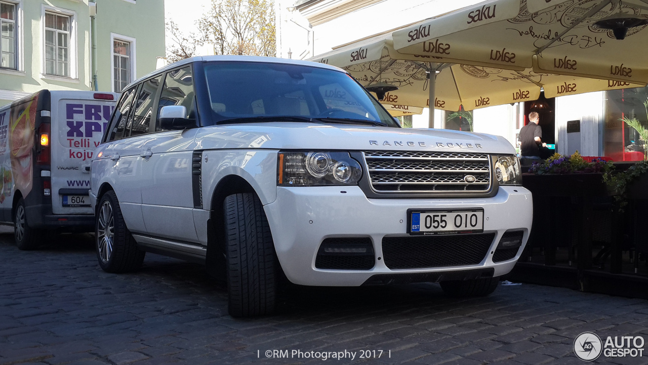 land rover mansory range rover autobiography 18 may 2017 autogespot. Black Bedroom Furniture Sets. Home Design Ideas