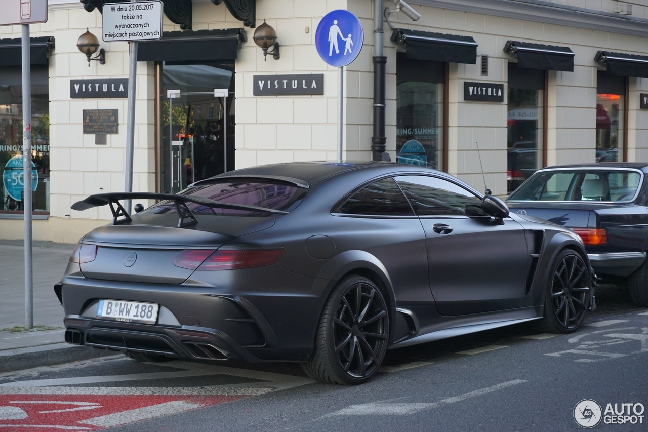 Mercedes Benz Mansory S 63 Amg Coupe Black Edition 18