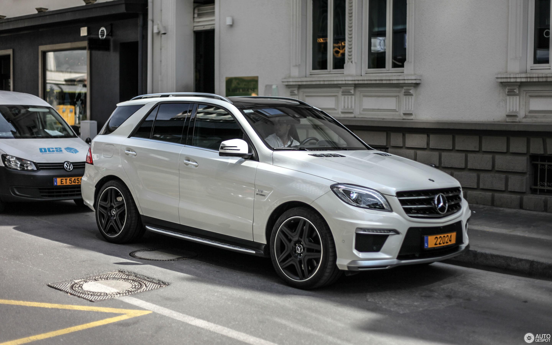 Mercedes Benz Ml 63 Amg W166