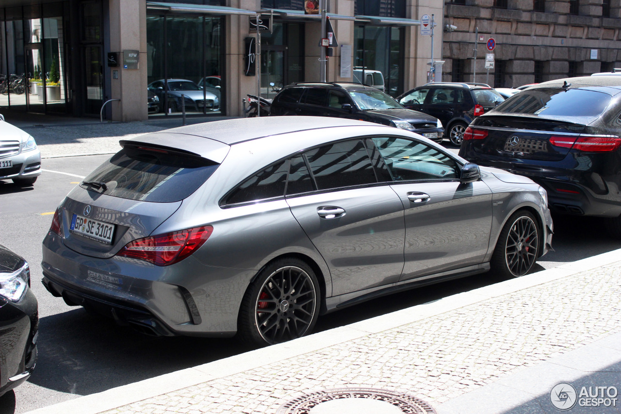 mercedes amg cla 45 shooting brake x117 2017 19 may 2017 autogespot. Black Bedroom Furniture Sets. Home Design Ideas