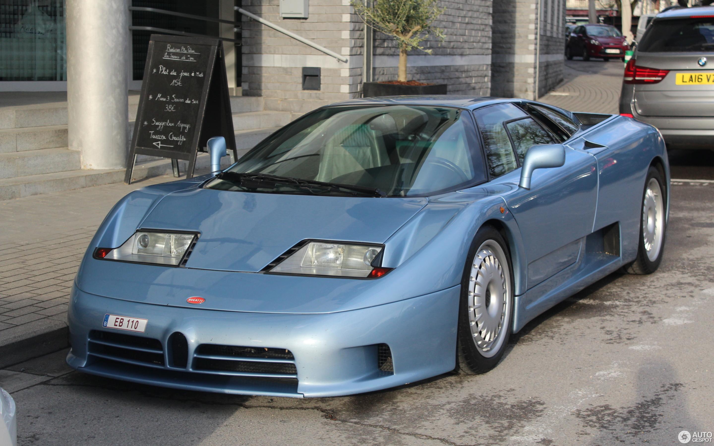 Bugatti EB110 GT - 19 May 2017 - Autogespot