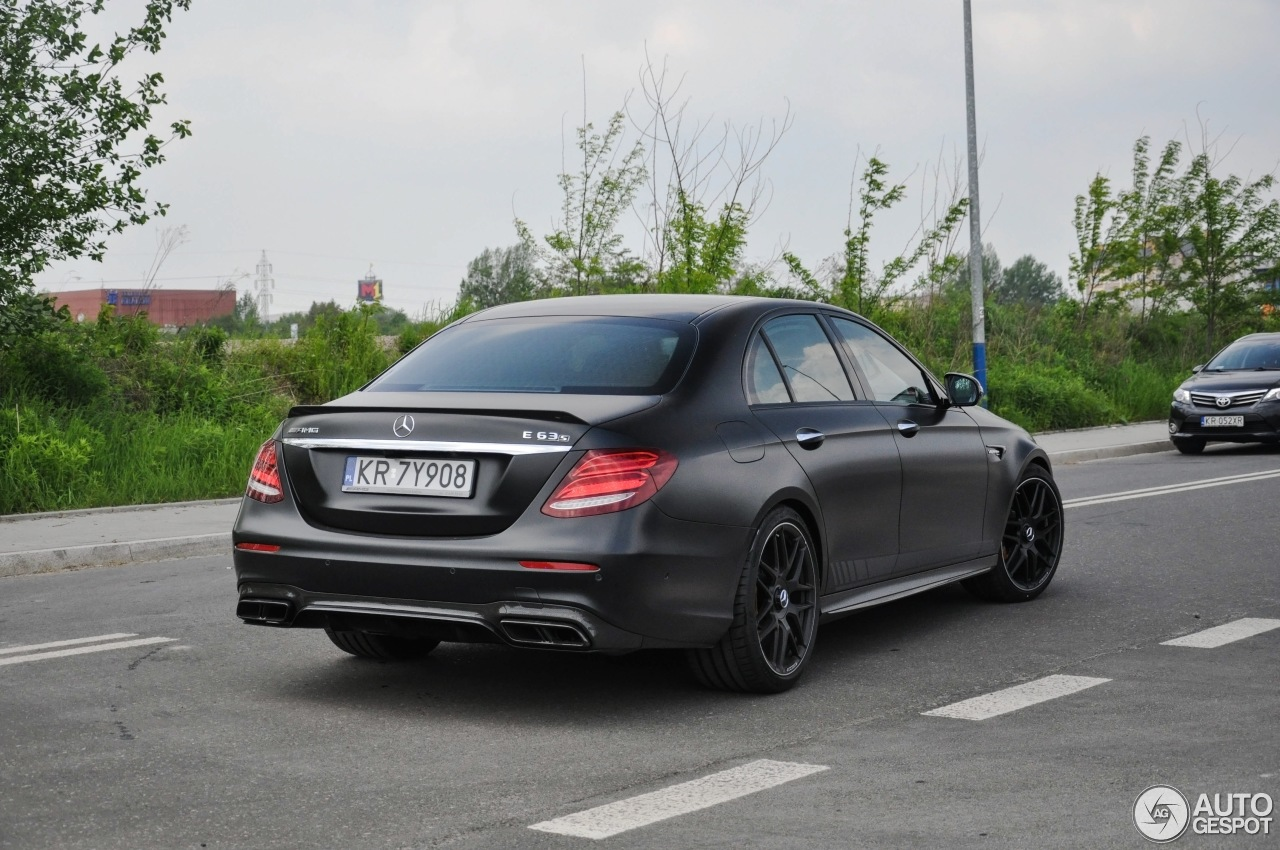 Mercedes amg e 63 s w213 edition 1 20 may 2017 autogespot for Mercedes benz e63s