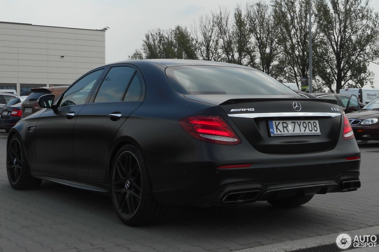 mercedes amg e 63 s w213 edition 1 20 may 2017 autogespot. Black Bedroom Furniture Sets. Home Design Ideas