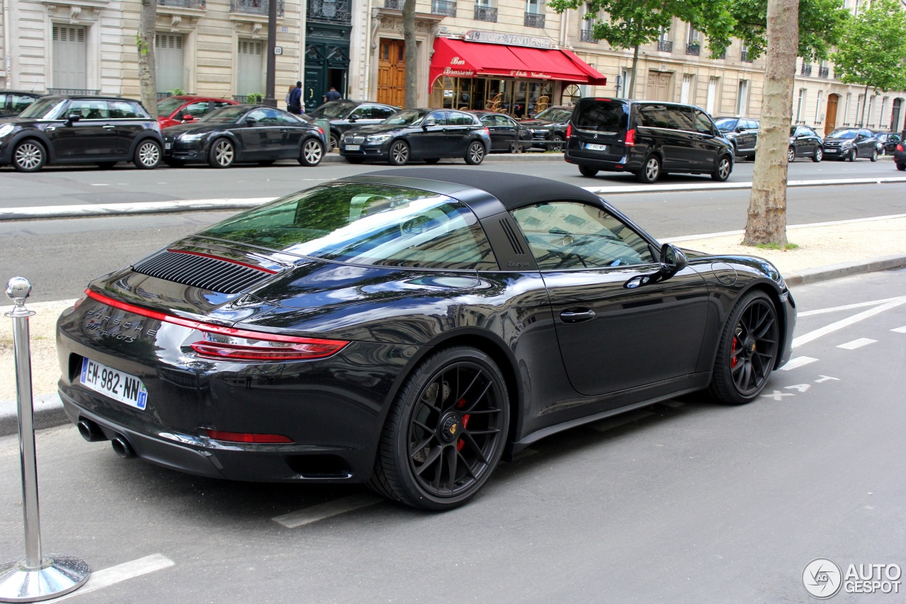 porsche 991 targa 4 gts mkii 20 mai 2017 autogespot. Black Bedroom Furniture Sets. Home Design Ideas