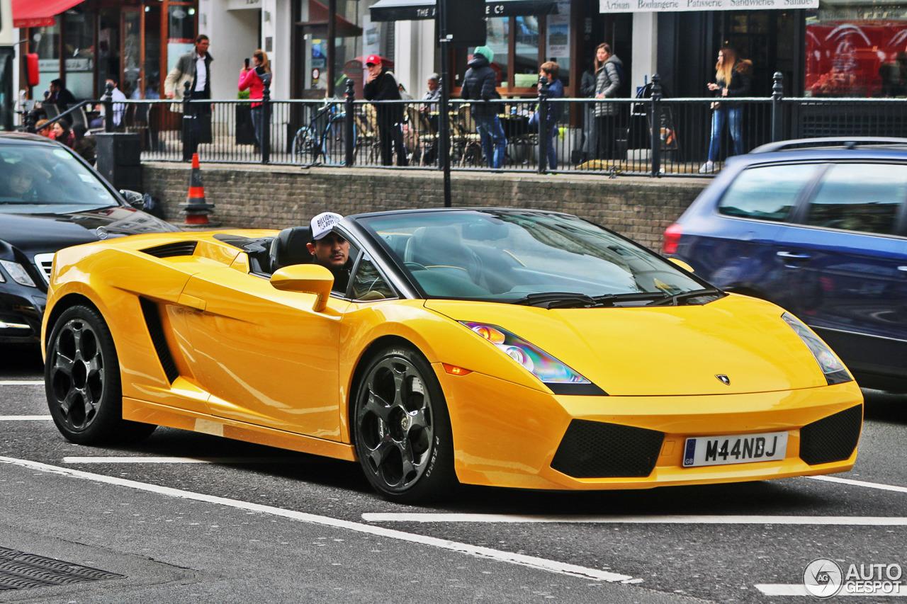 Lamborghini Gallardo Spyder - 21 May 2017 - Autogespot