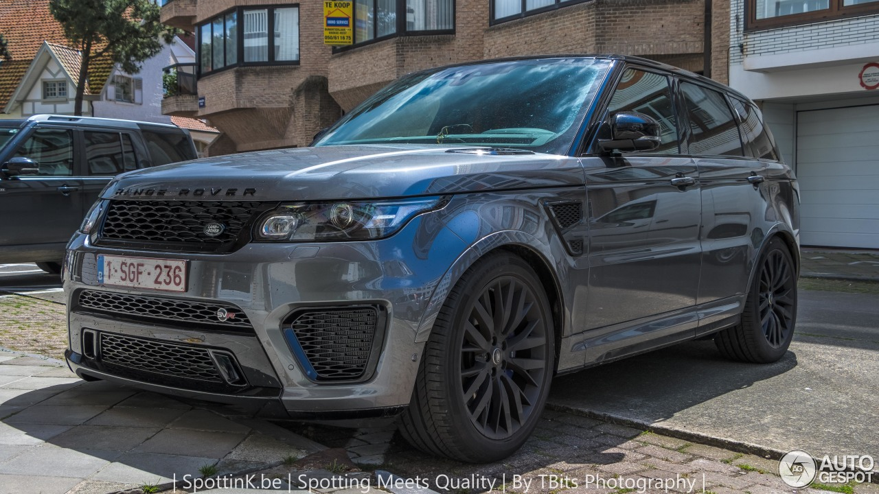 land rover range rover sport svr 21 may 2017 autogespot. Black Bedroom Furniture Sets. Home Design Ideas
