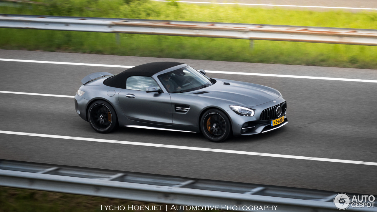 mercedes amg gt c roadster 21 may 2017 autogespot. Black Bedroom Furniture Sets. Home Design Ideas