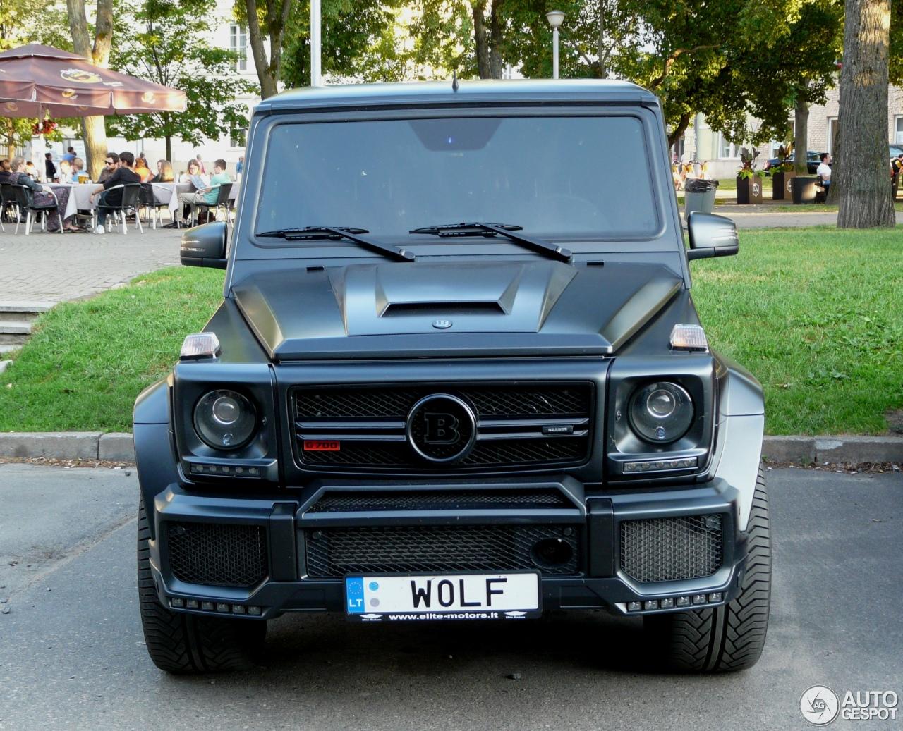 Mercedes Benz Brabus G 700 Widestar 21 May 2017 Autogespot