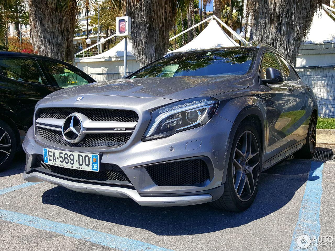 Mercedes benz gla 45 amg x156 21 mei 2017 autogespot for 2017 amg gla 45 mercedes benz