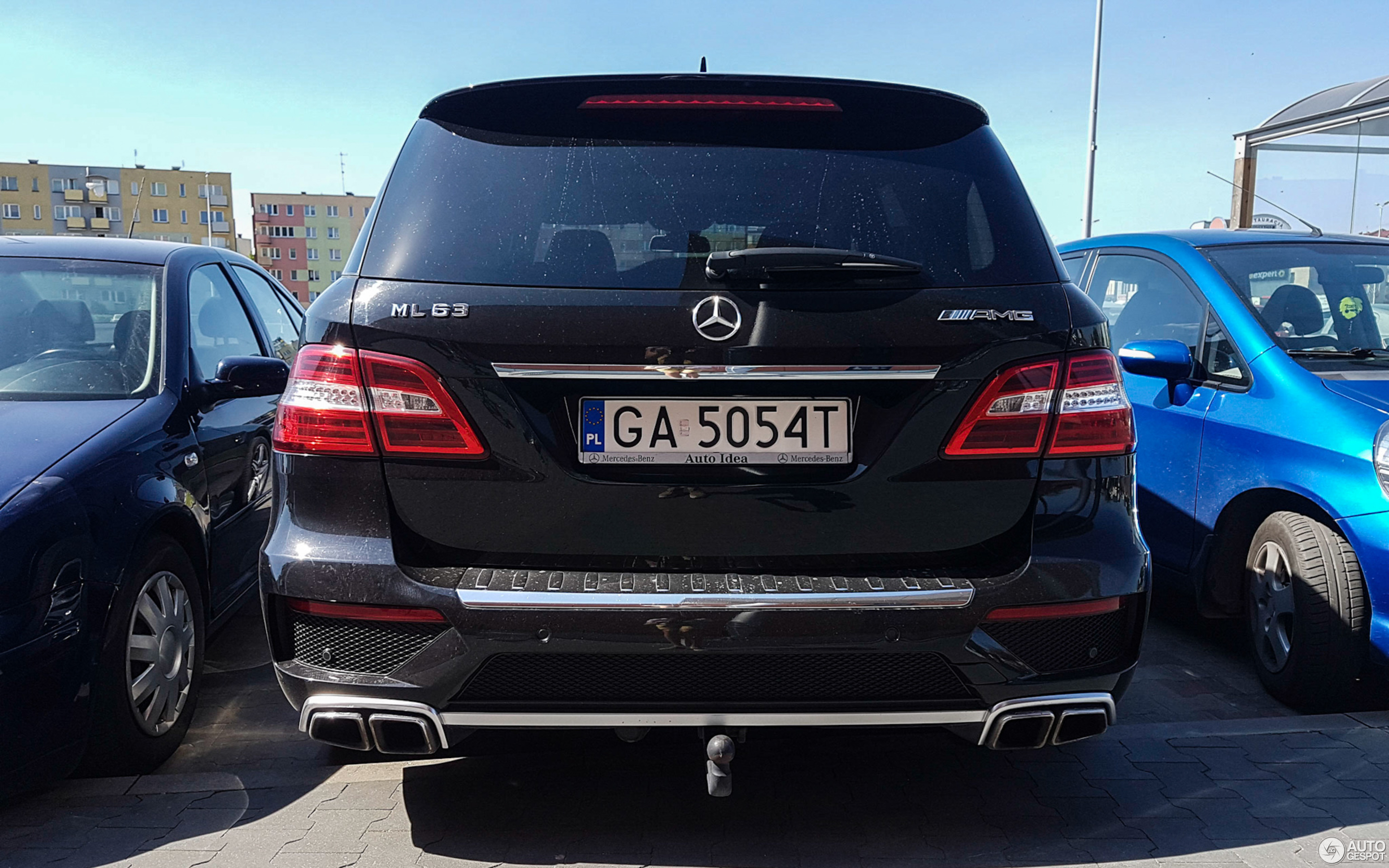 Mercedes Benz ML 63 AMG W166 21 mei 2017 Autogespot