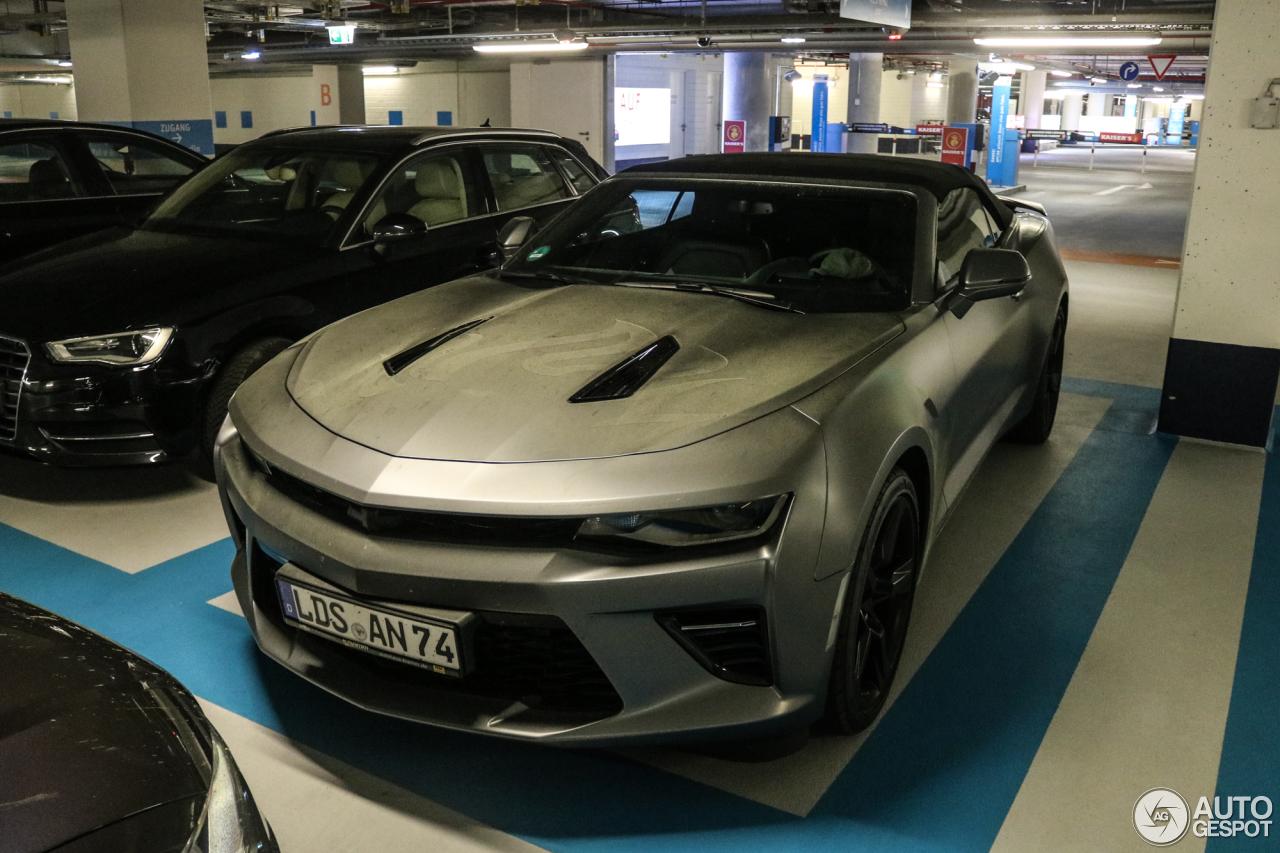 Chevrolet Camaro SS Convertible 2016 - 22 May 2017 - Autogespot