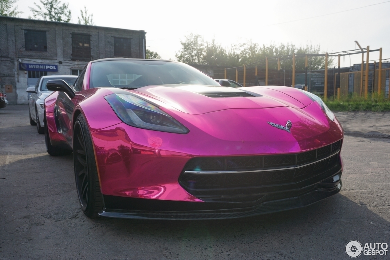 Chevrolet Corvette C7 Stingray Forgiato Wide Body Kit 22