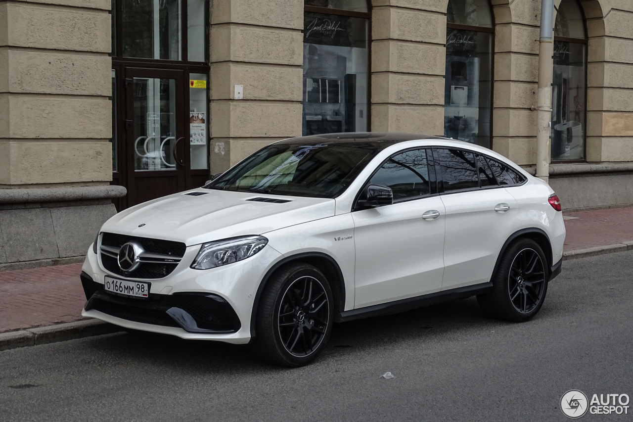 Mercedes amg gle 63 coupe 22 may 2017 autogespot for 2017 amg gle 63 mercedes benz
