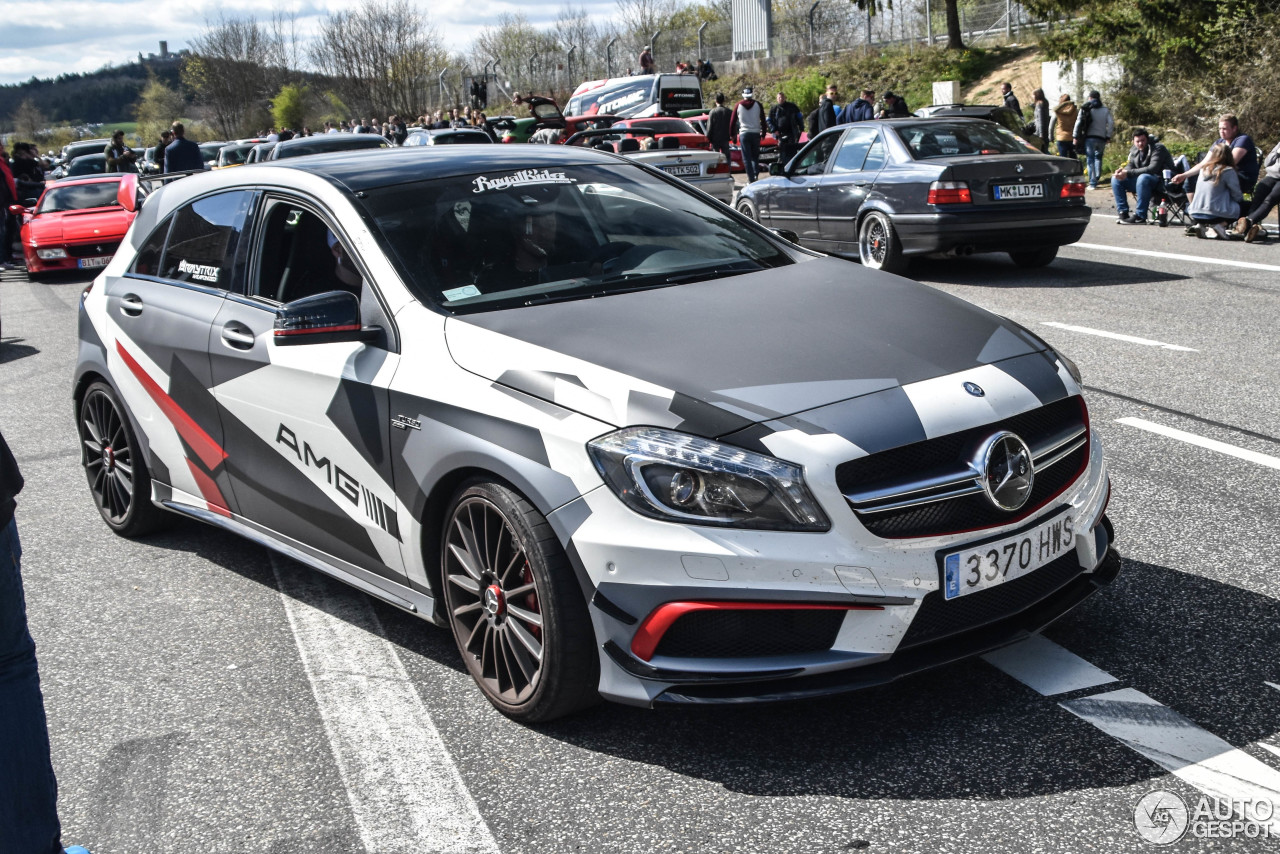 mercedes benz a 45 amg 22 mai 2017 autogespot. Black Bedroom Furniture Sets. Home Design Ideas