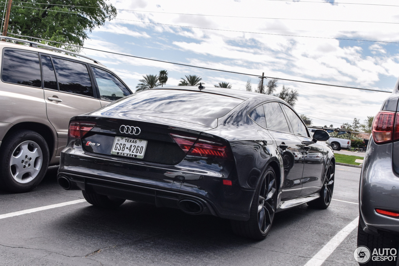 Audi Rs7 Sportback 2015 Performance 23 May 2017 Autogespot