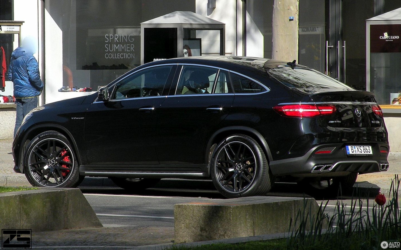 Mercedes Amg Gle 63 S Coupe 23 Mai 2017 Autogespot