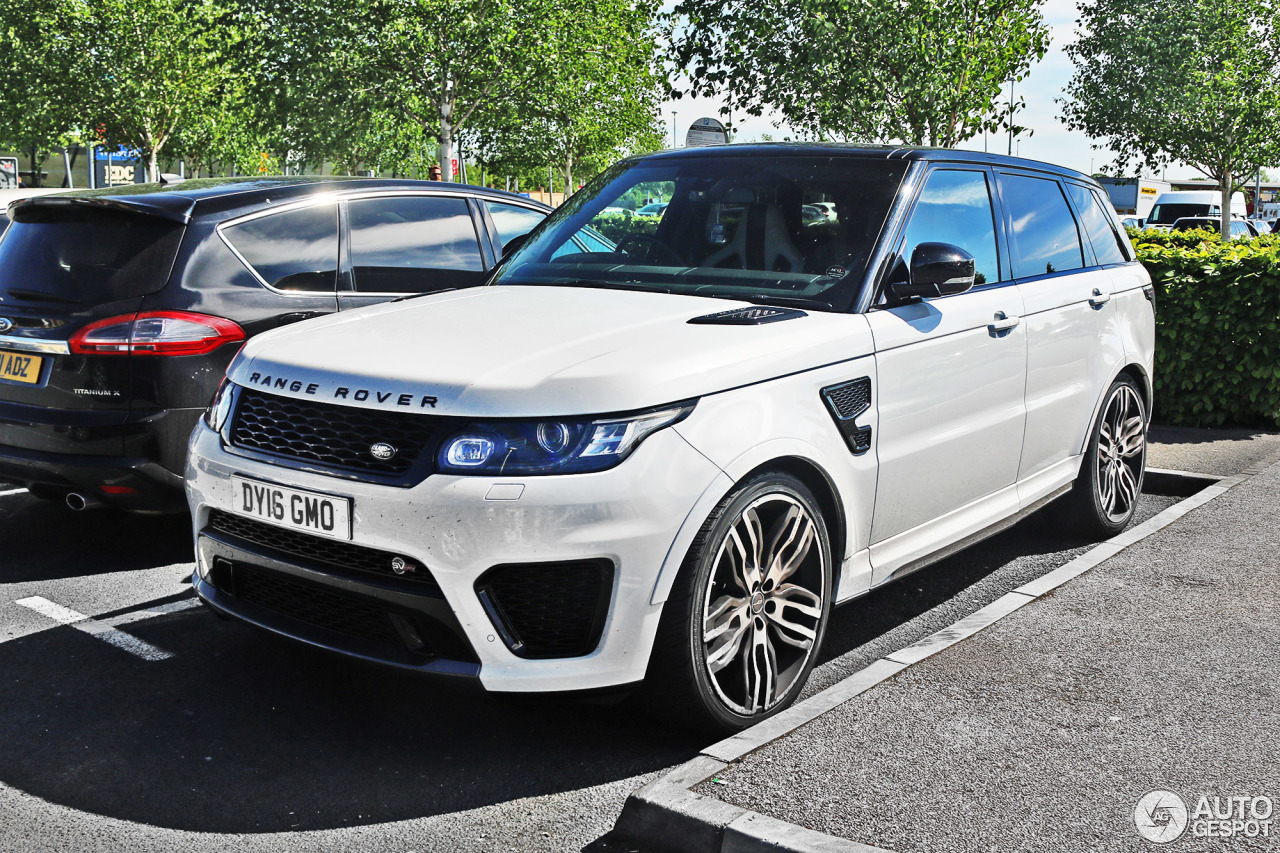 land rover range rover sport svr 24 may 2017 autogespot. Black Bedroom Furniture Sets. Home Design Ideas