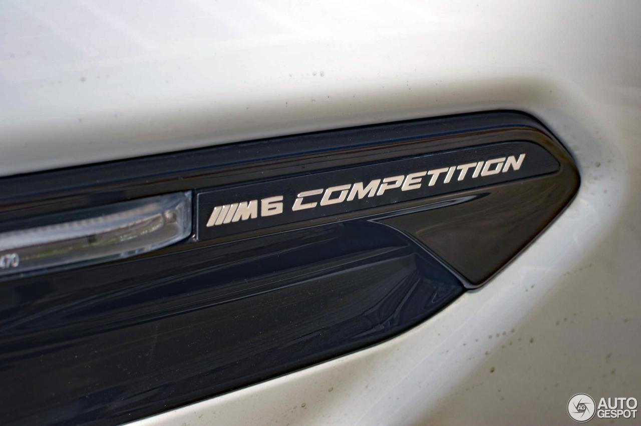 bmw m6 f13 competition edition 2015 25 mai 2017 autogespot