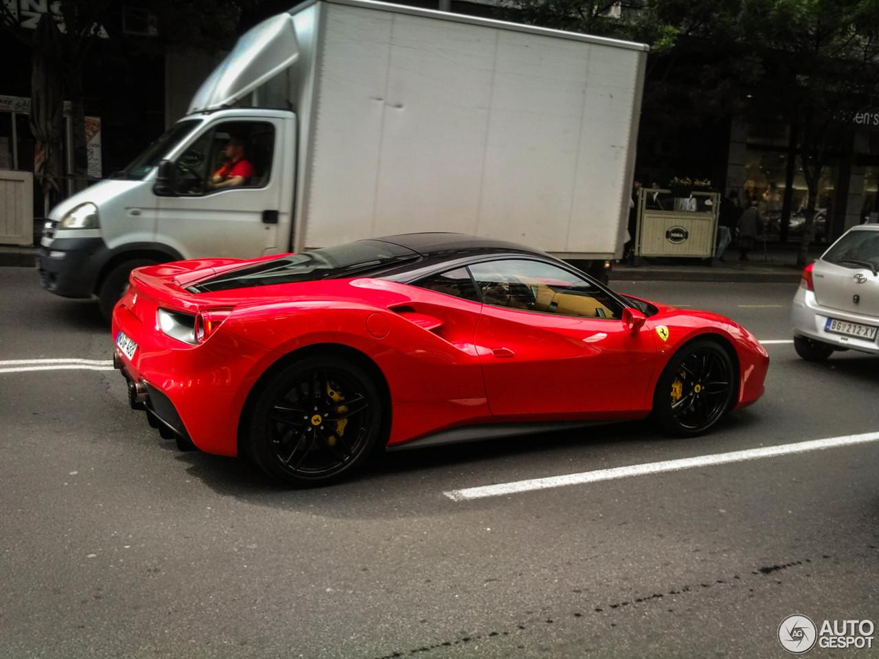 Supercars Gallery Ferrari 488 Gtb Matte Black
