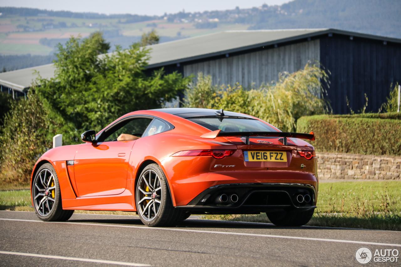 Jaguar F-TYPE SVR Coupé - 25 May 2017 - Autogespot