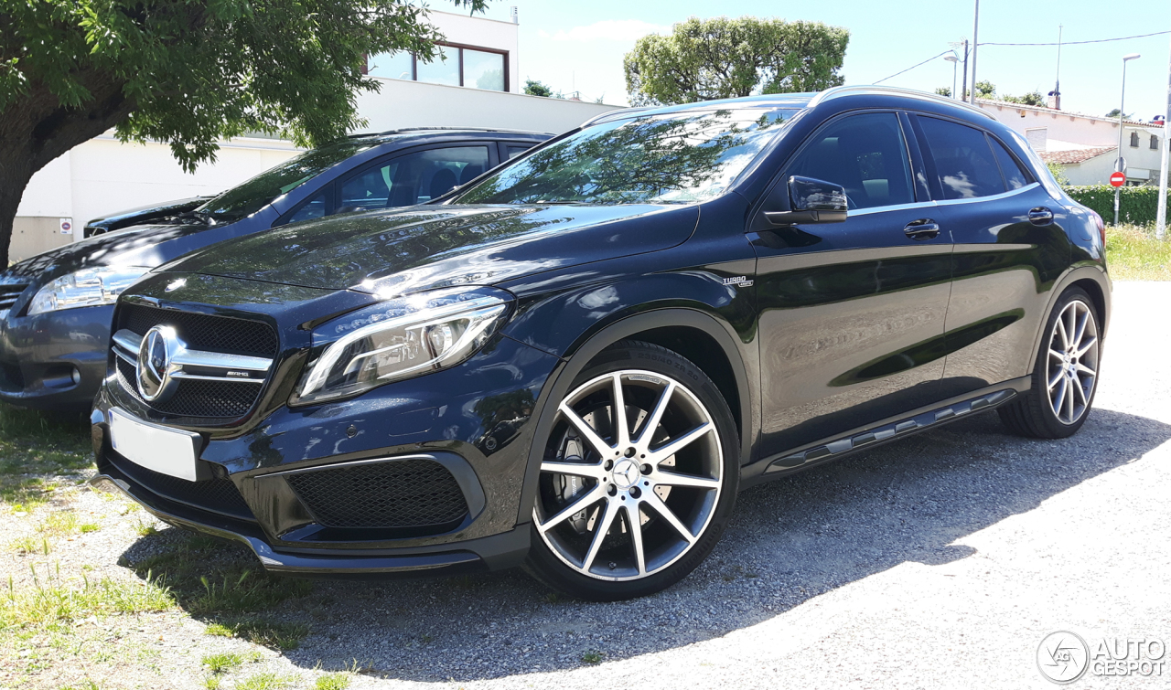 mercedes amg gla 45 x156 25 may 2017 autogespot. Black Bedroom Furniture Sets. Home Design Ideas