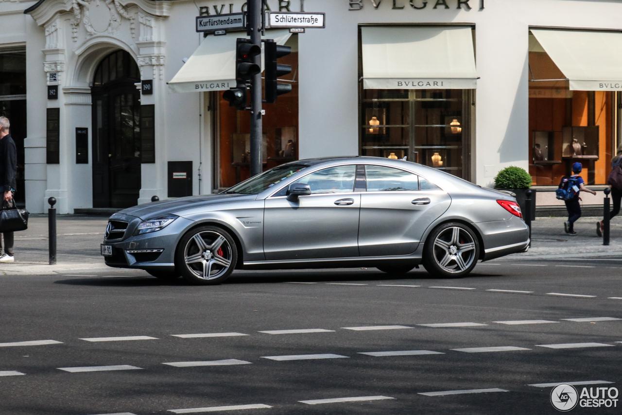 Mercedes benz cls 63 amg c218 25 mei 2017 autogespot for 2017 amg cls 63 mercedes benz