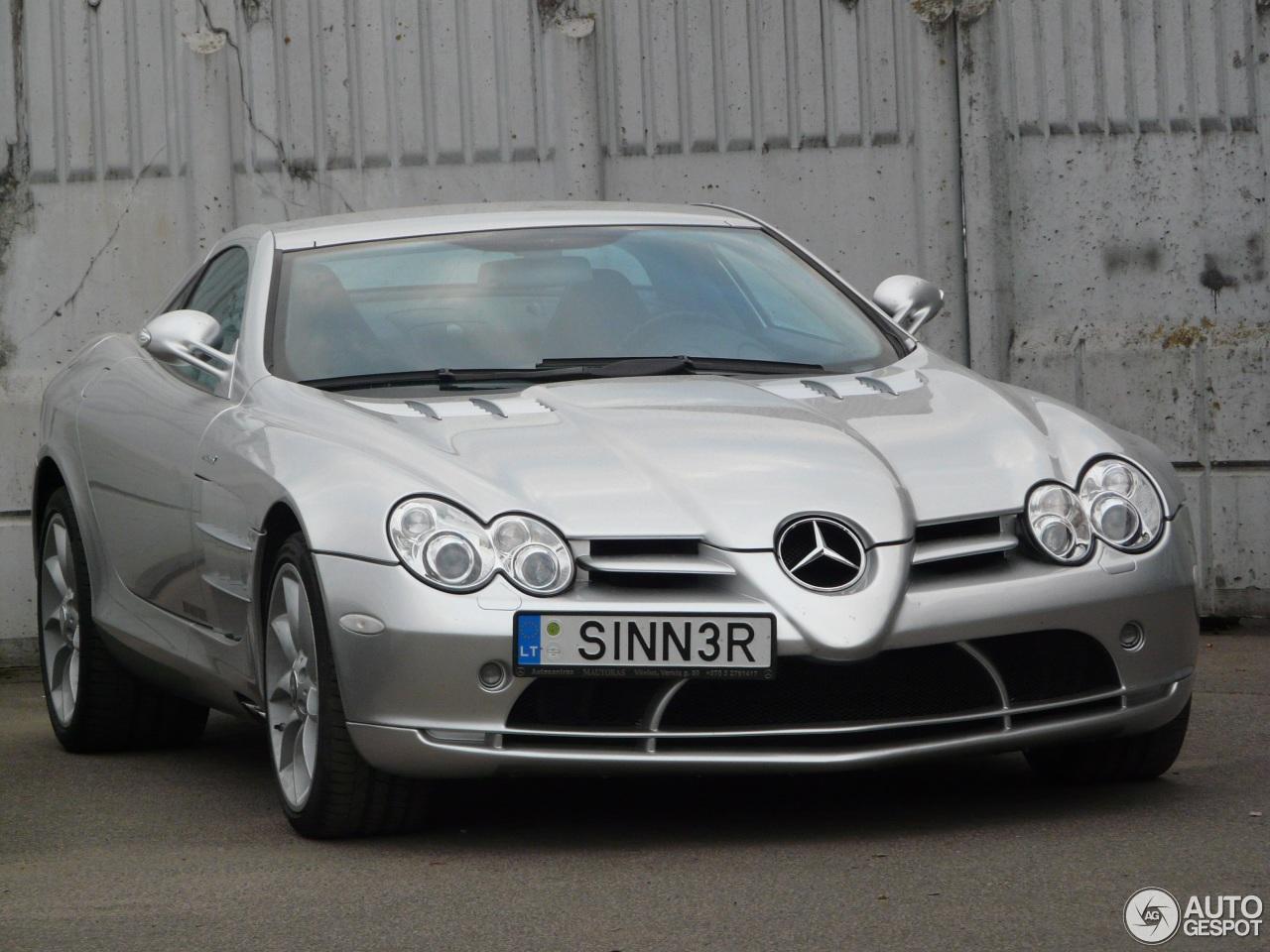 Mercedes benz slr mclaren 25 may 2017 autogespot for Mercedes benz slr