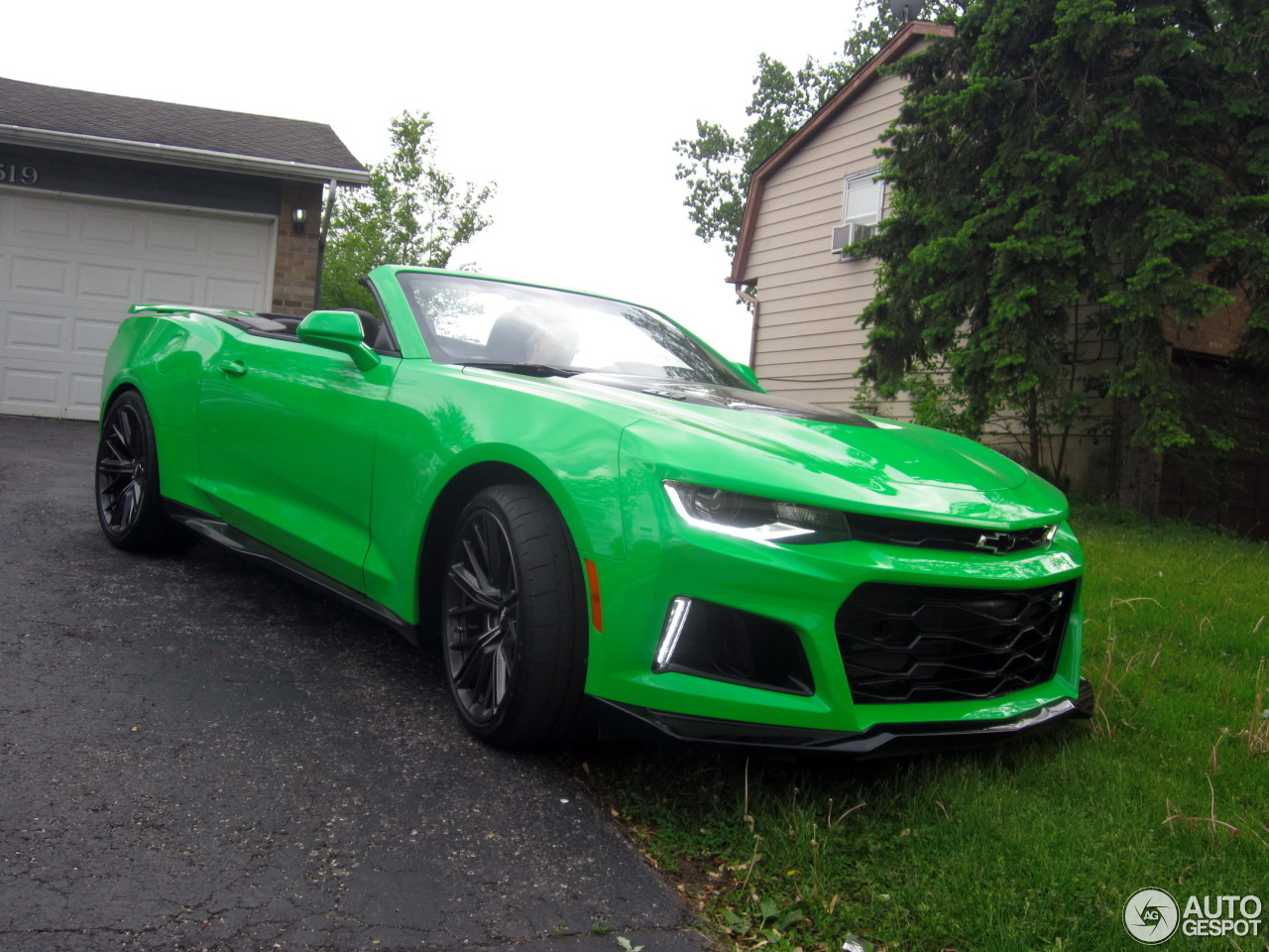 Chevrolet Camaro ZL1 Convertible 2017 27 May 2017