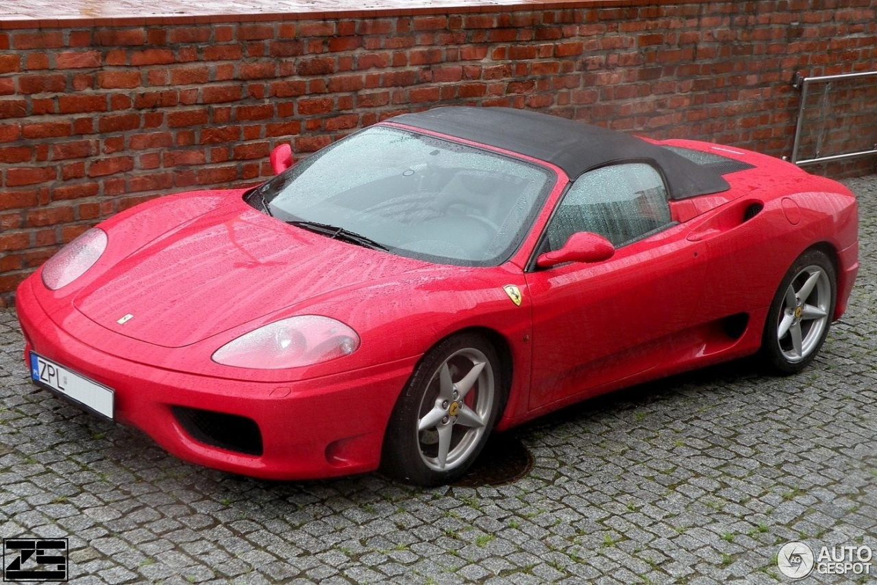ferrari 360 spider 27 may 2017 autogespot. Black Bedroom Furniture Sets. Home Design Ideas