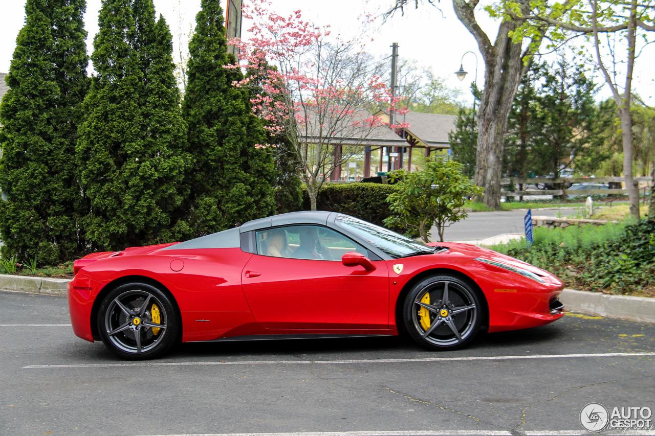 Ferrari 458 Spider - 28 May 2017 - Autogespot