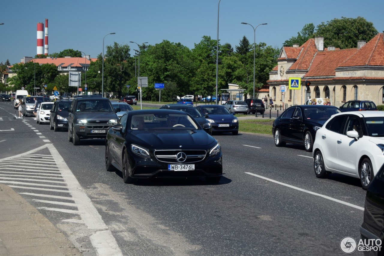 Mercedes benz s 63 amg coup c217 28 may 2017 autogespot for All types of mercedes benz cars