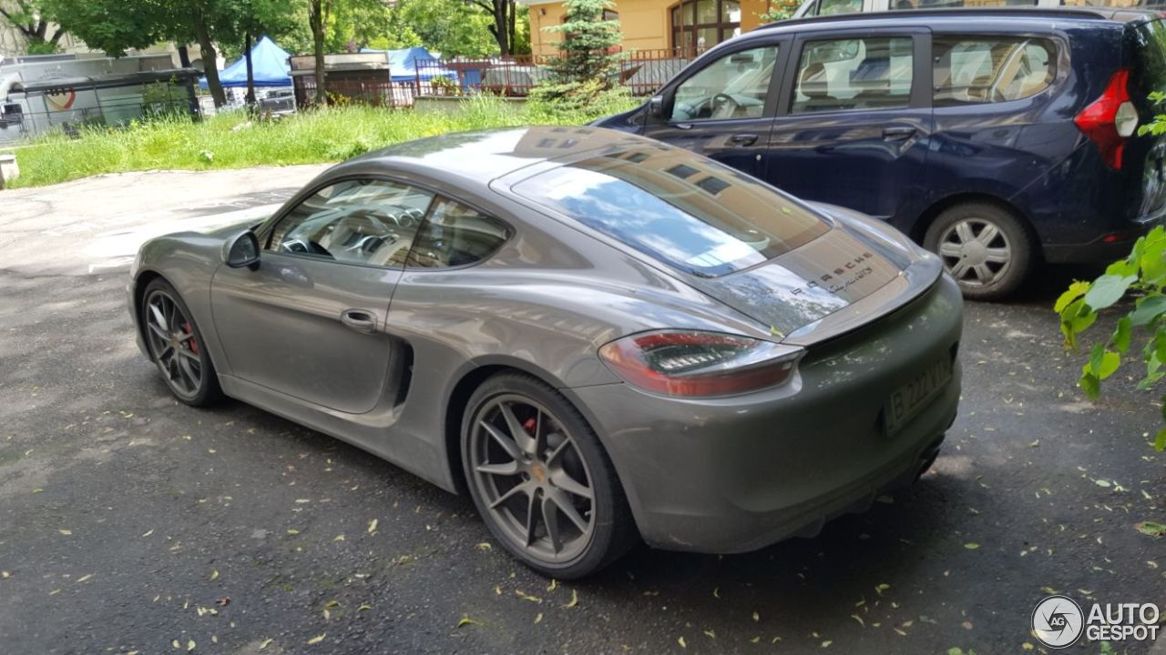 porsche 981 cayman gts 28 may 2017 autogespot. Black Bedroom Furniture Sets. Home Design Ideas
